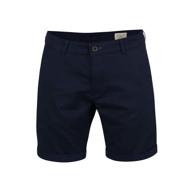 Pantaloni scurți Selected Homme Paris albastru închis de la Selected Homme in categoria Blugi, pantaloni, pantaloni scurți
