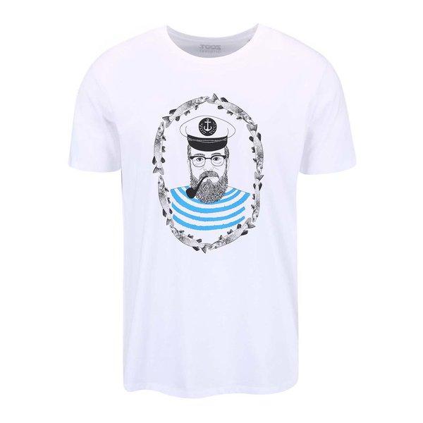 Tricou bărbătesc cu print ZOOT Original Sailor alb