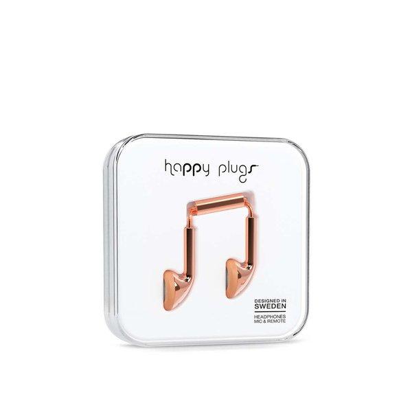 Căști In-Ear auriu-rose Happy Plugs