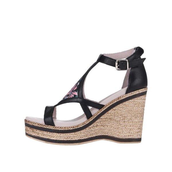 Sandale OJJU negre, cu platformă de la OJJU in categoria pantofi casual