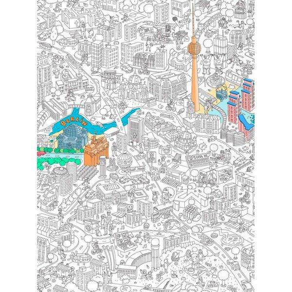 Poster de colorat Berlin OMY de la OMY in categoria Pentru dormitor și camera de zi