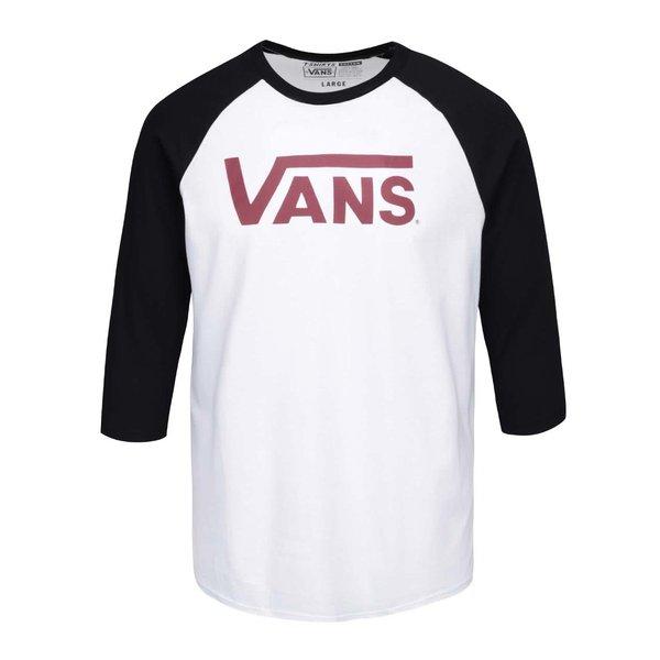 Bluză de bărbați VANS Classic albă cu mâneci negre de la VANS in categoria bluze