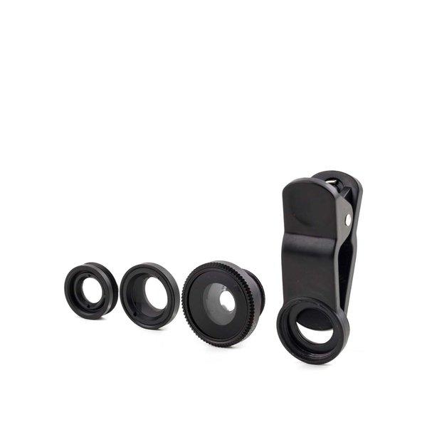 Set de 3 lentile foto de telefon Kikkerland de la Kikkerland in categoria CASĂ ȘI DESIGN