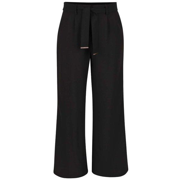 Pantaloni negri evazați Dorothy Perkins