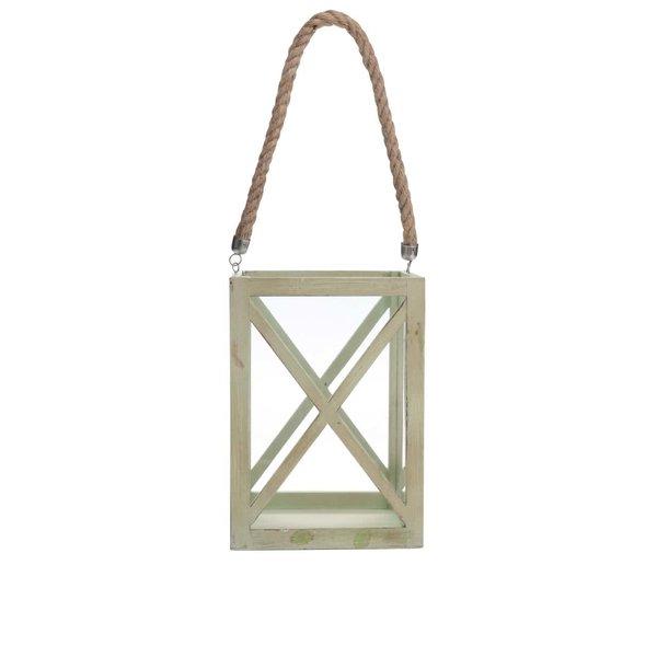 Suport de lumânare Dakls verde, din lemn de la Dakls in categoria CASĂ ȘI DESIGN