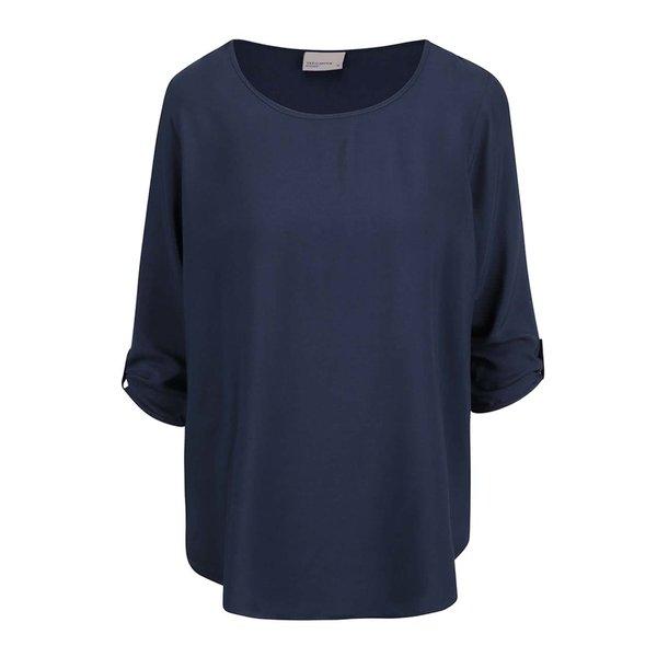 Bluza bleumarin cu maneci 3/4 - VERO MODA Boca