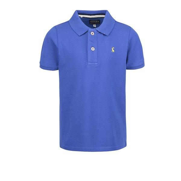 Tricou polo albastru Tom Joule Woody pentru băieţi