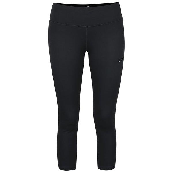 Colanți capri negri Nike DF Epic Run de la Nike in categoria Blugi, pantaloni, colanți