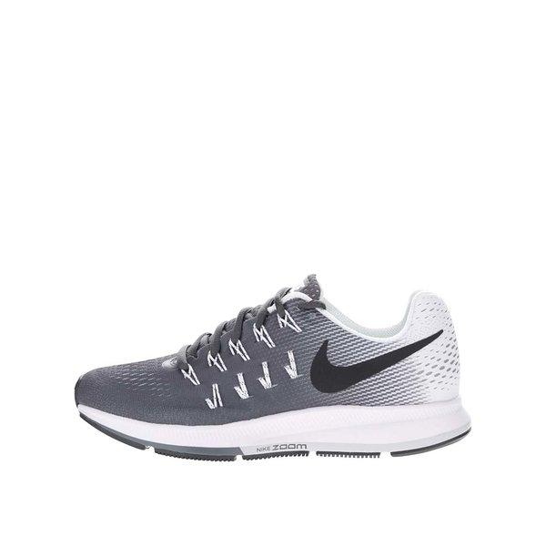 Pantofi sport gri cu alb Nike Air Zoom Pegasus 33 de la Nike in categoria pantofi sport și teniși