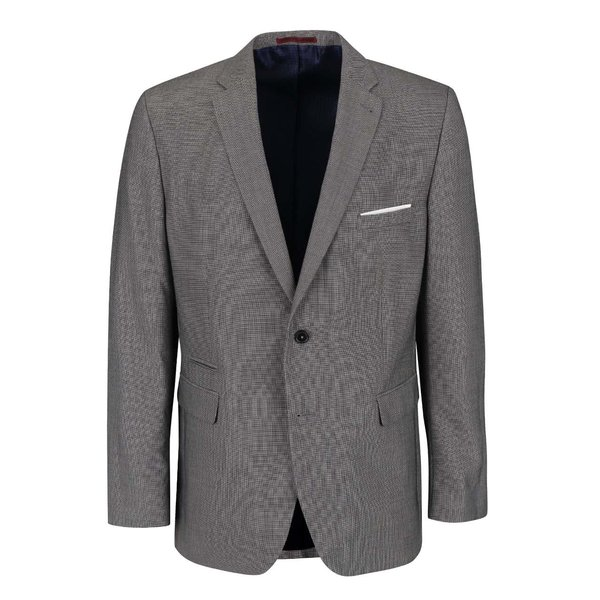 Sacou gri tailored fit Burton Menswear London de la Burton Menswear London in categoria Geci, paltoane, jachete