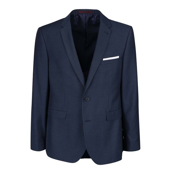 Sacou bleumarin slim fit Burton Menswear London de la Burton Menswear London in categoria Geci, paltoane, jachete