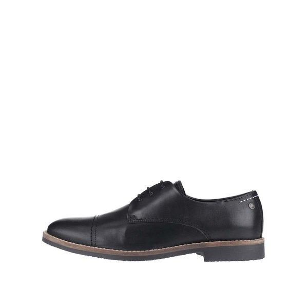 Pantofi negri Jack & Jones Billy din piele de la Jack & Jones in categoria pantofi și mocasini