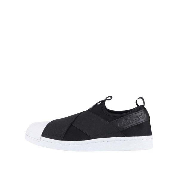 Pantofi sport alb cu negru Adidas Originals Superstar de la adidas Originals in categoria pantofi sport și teniși