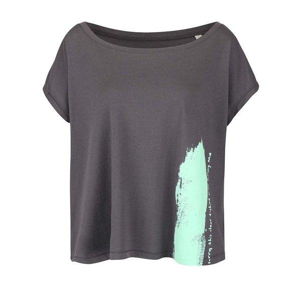 Tricou gri oversized pentru femei - ZOOT Original Sorry This Clear T-shirt Was Boring Me pentru femei