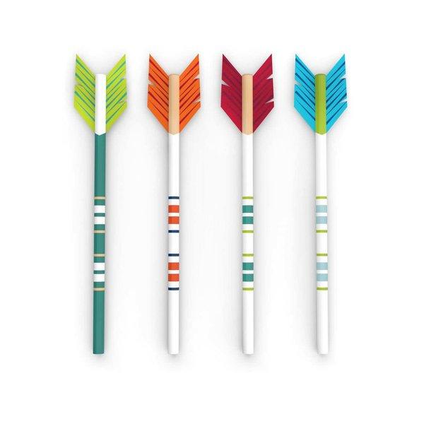 Set de 4 creioane Kikkerland în formă de săgeată de la Kikkerland in categoria CASĂ ȘI DESIGN