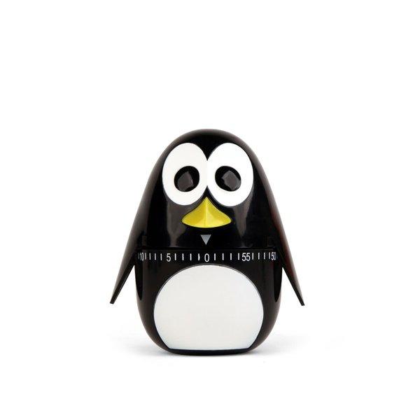 Timer de bucătărie Kikkerland în formă de pinguin