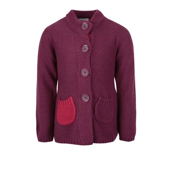 Cardigan violet LEGO Wear Kayla de la Lego Wear in categoria Pulovere, hanorace
