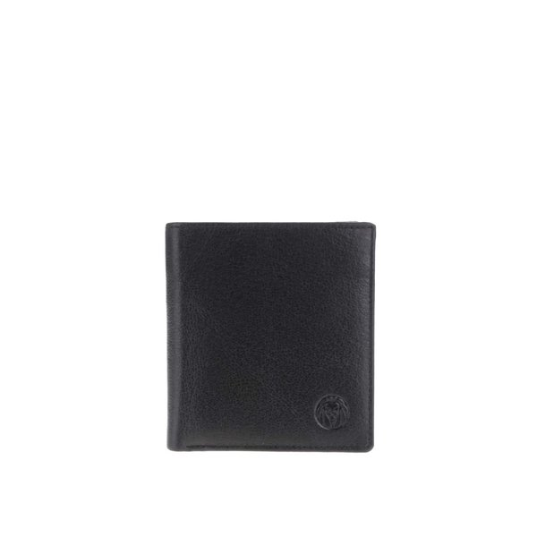 Portofel negru Lucleon California din piele de la Lucleon in categoria Rucsacuri, genți, portofele