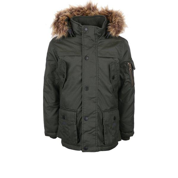 Parka kaki name it Max pentru fete de la name it in categoria Geci, jachete, paltoane