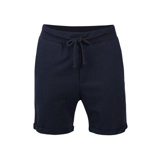 Pantaloni scurți bleumarin Jack & Jones Boost din bumbac de la Jack & Jones in categoria Blugi, pantaloni, pantaloni scurți