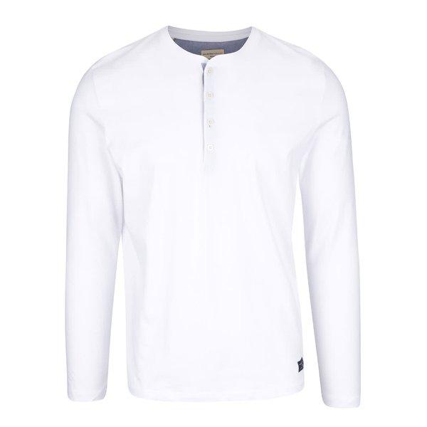 Bluză albă Selected Homme Niklas din bumbac