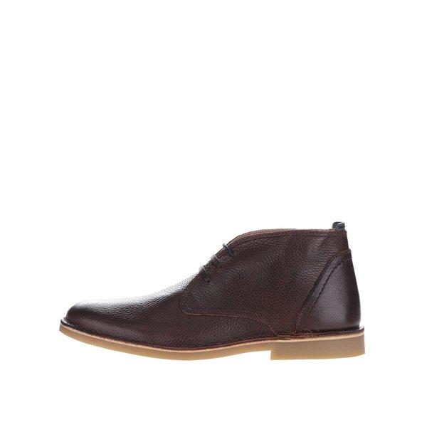 Ghete maro Selected Homme New Royce din piele de la Selected Homme in categoria pantofi și mocasini