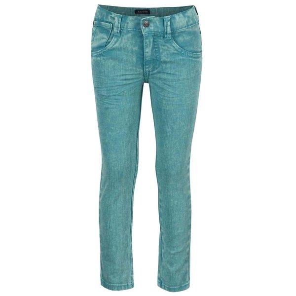Blugi turcoaz Blue Seven cu aspect prespălat pentru băieți de la Blue Seven in categoria Pantaloni, pantaloni scurți