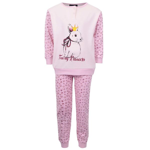 Pijama roz Mix´n Match pentru fete