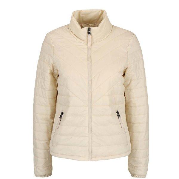 Jachetă crem VERO MODA Fine matlasată de la VERO MODA in categoria Geci, jachete și sacouri