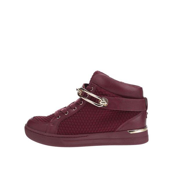 Ghete sport roșii burgundy ALDO Storo pentru femei de la ALDO in categoria pantofi sport și teniși