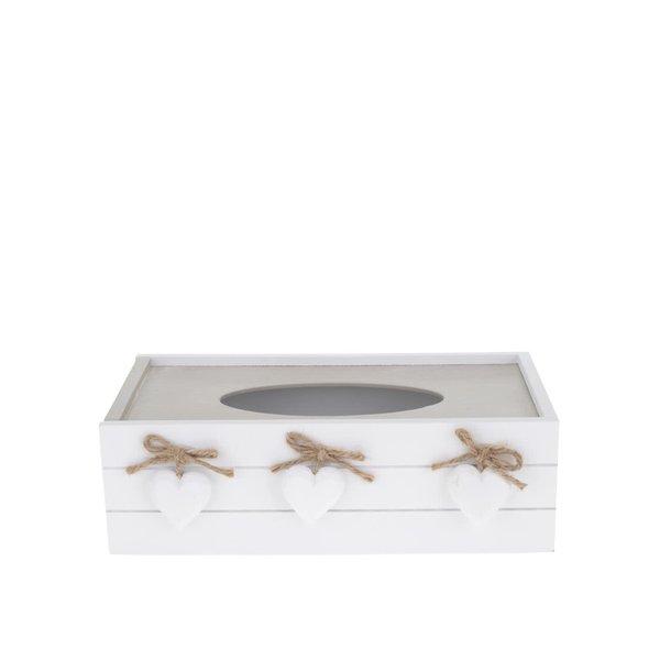 Cutie din lemn Dakls pentru șervețele