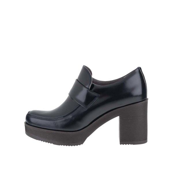 Pantofi bleumarin OJJU cu platformă de la OJJU in categoria pantofi casual