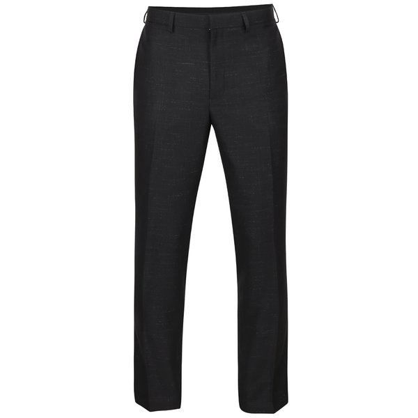 Pantaloni negri Burton Menswear London cu model discret de la Burton Menswear London in categoria Geci, paltoane, jachete