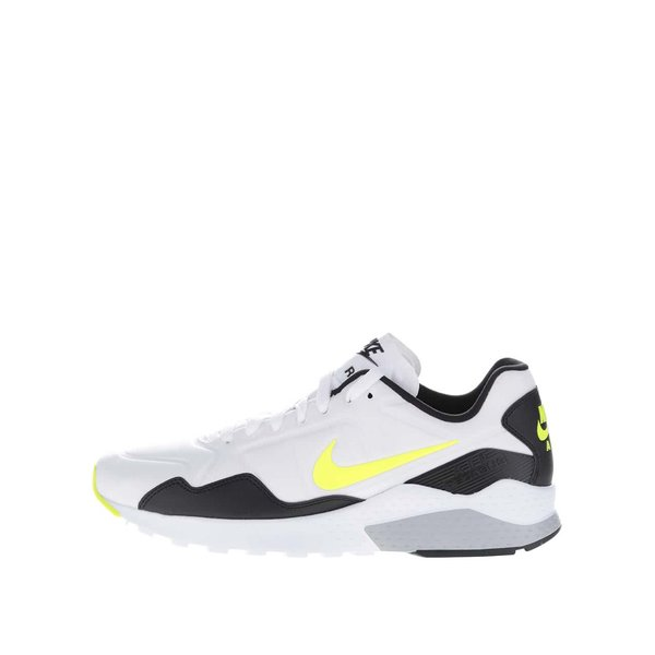 Pantofi sport negri & albi Nike Zoom Pegasus cu detalii galbene pentru bărbați de la Nike in categoria pantofi sport și teniși