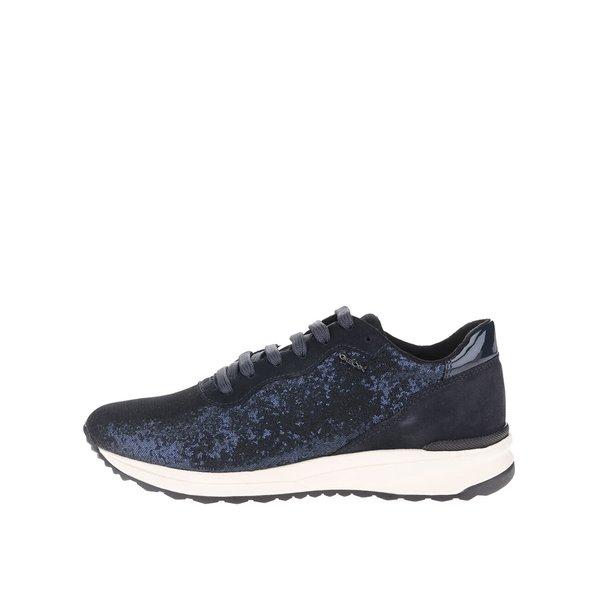 Pantofi sport bleumarin Geox Airell B cu paiete de la Geox in categoria pantofi sport și teniși
