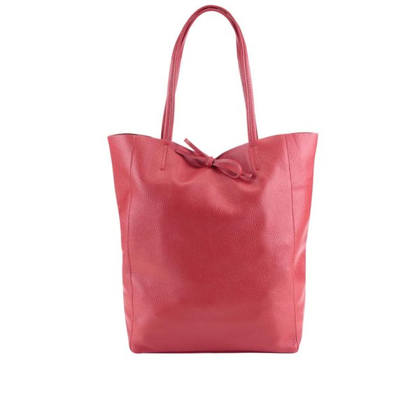 Geantă rosie din piele - ZOOT Simple