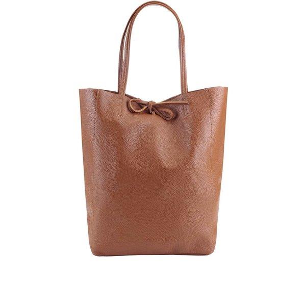 Geantă shopper maro închis din piele ZOOT Simple de la ZOOT in categoria genți mari