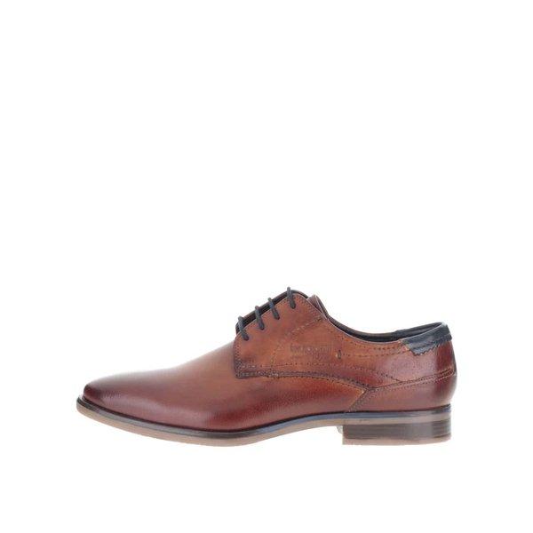 Pantofi bugatti Levio bărbătești maro din piele de la bugatti in categoria pantofi și mocasini