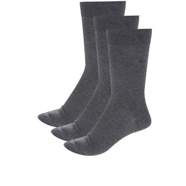 Set 3 perechi de șosete gri pentru barbati CR7