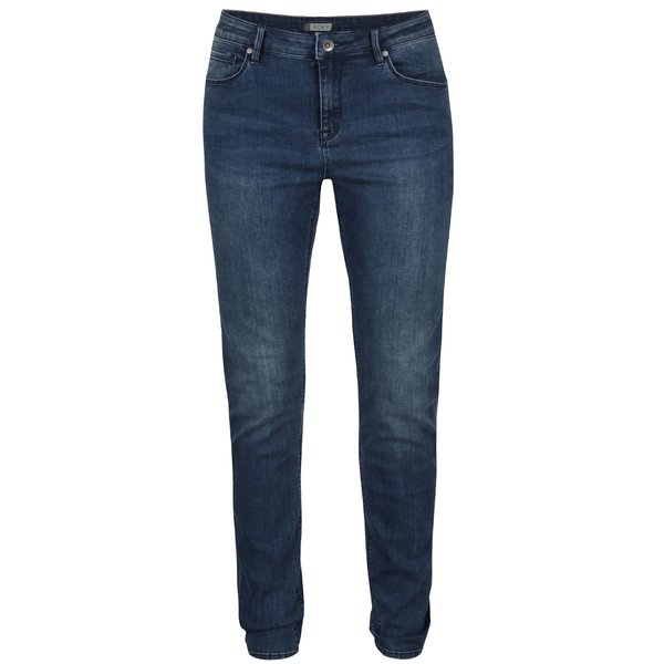 Blugi skinny albaștri Roxy Suntrippers cu aspect prespălat de la Roxy in categoria Blugi, pantaloni, colanți