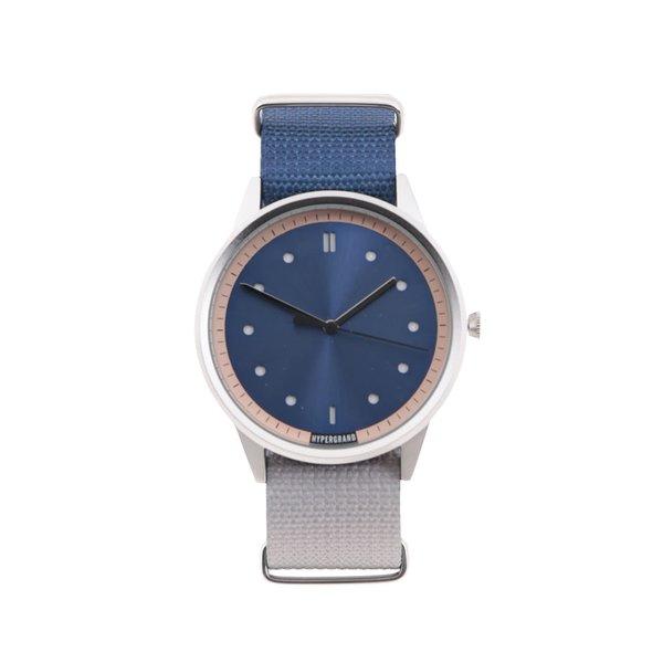 Ceas albastru cu gri HYPERGRAND pentru bărbați