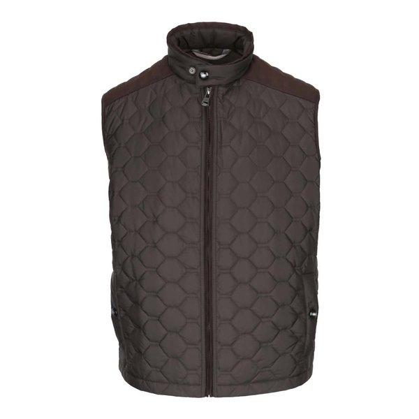 Vestă matlasată maro bugatti pentru bărbați de la bugatti in categoria Geci, paltoane, jachete