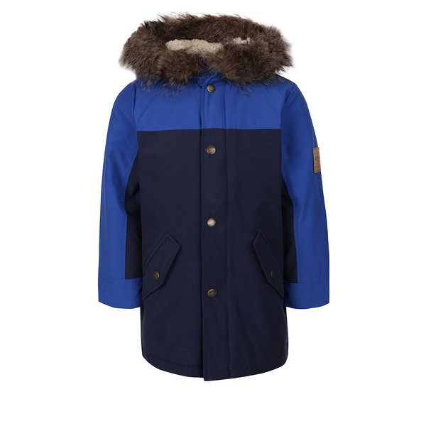 Jachetă albastră Tom Joule Blerside cu glugă pentru băieți de la Tom Joule in categoria Geci, jachete, paltoane