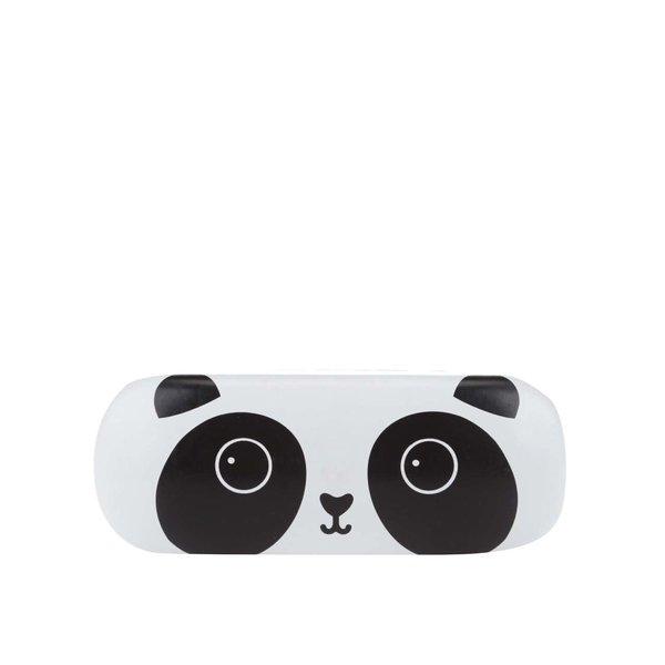 Etui alb & negru Sass & Belle Kawaii Friends cu model urs panda