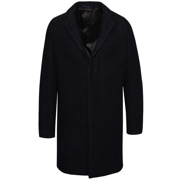 Palton bleumarin Selected Homme Brook Boucle de la Selected Homme in categoria Geci, paltoane, jachete