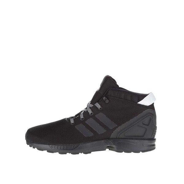Pantofi sport înalți negri pentru bărbați adidas Originals ZX Flux 5/8 de la adidas Originals in categoria pantofi sport și teniși