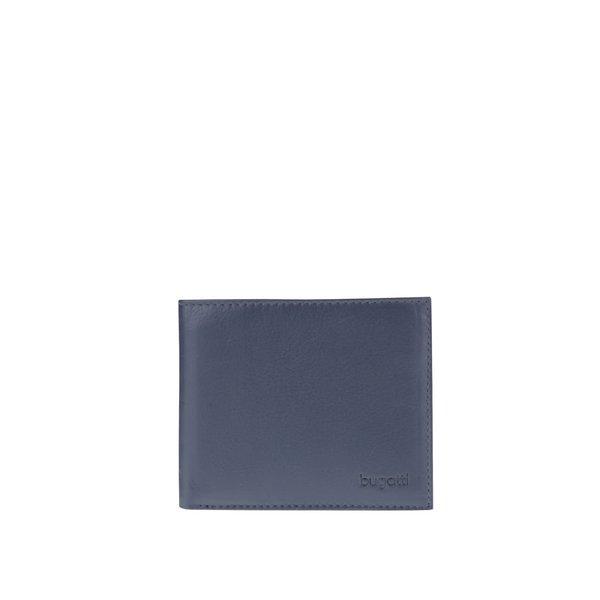 Portofel albastru închis bugatti Sempre din piele de la bugatti in categoria Rucsacuri, genți, portofele
