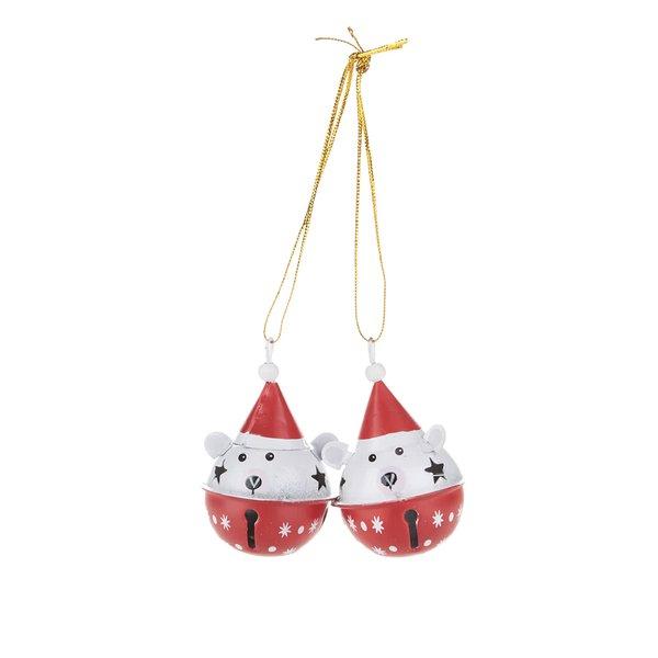 Set 2 ornamente Sass & Belle în formă de urși de la Sass & Belle in categoria CASĂ ȘI DESIGN