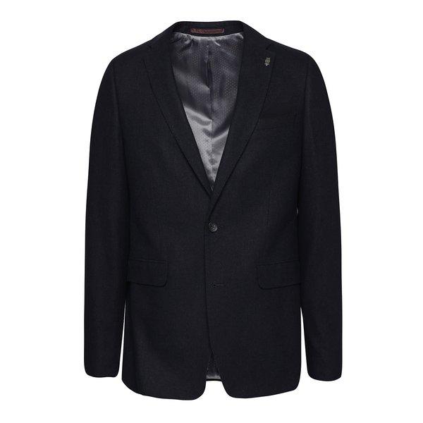 Sacou bleumarin Burton Menswear London cu buzunar interior de la Burton Menswear London in categoria Geci, paltoane, jachete