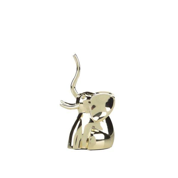 Cutie aurie de bijuterii Umbra Zoola Elephant